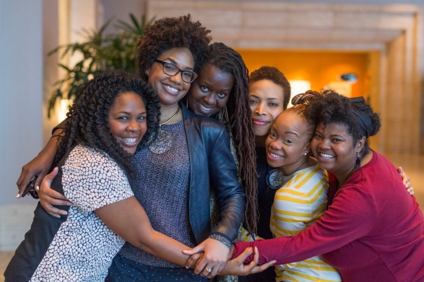 This photo snapped at the Fellows Closing Dinner at TED2015 gives me incredible joy — six Black women who are masters in different fields loving each other. In the aftermath of the domestic terrorism perpetrated at Charleston's Mother Emanuel, it also gives me a moment for reflection. Photo: Ryan Lash/TED